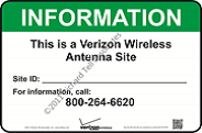 INFORMATION This is a Verizon Wireless Antenna Site