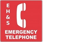 ehs emergency phone