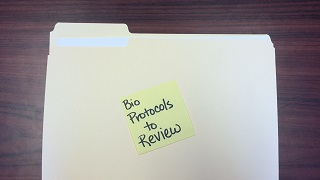 folder bio protocols to review